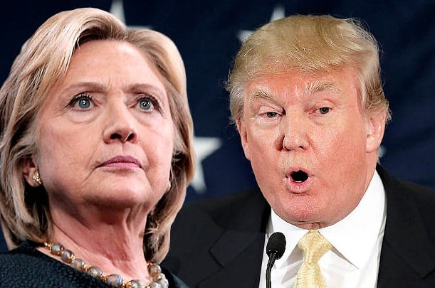 National poll-.Clinton leads Trump by 5