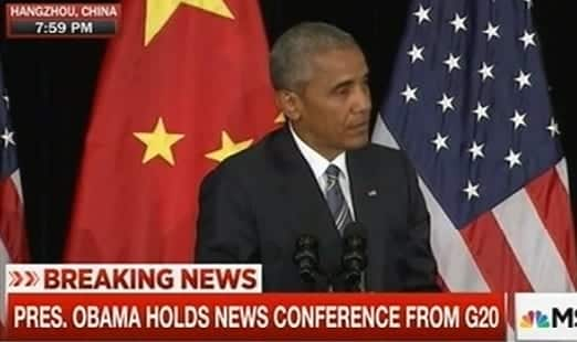 President-Obama Holds Conference From G20 Summit