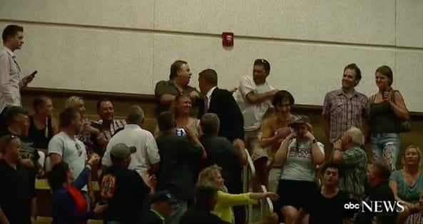 Watch Trump Supporter Slaps Protesters VIDEO