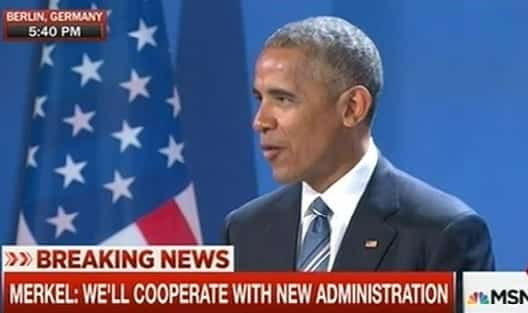 Obama Holds News Conference With German Merkel